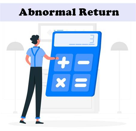 Abnormal Return
