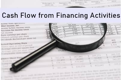 Cash Flow from Financing Activities –CFF