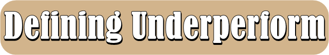 Underperform