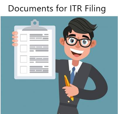 Important List of Documents Required for ITR Filing