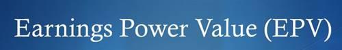Earnings Power Value (EPV)