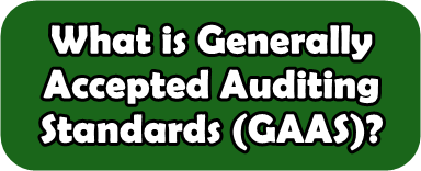 Generally Accepted Auditing Standards (GAAS)