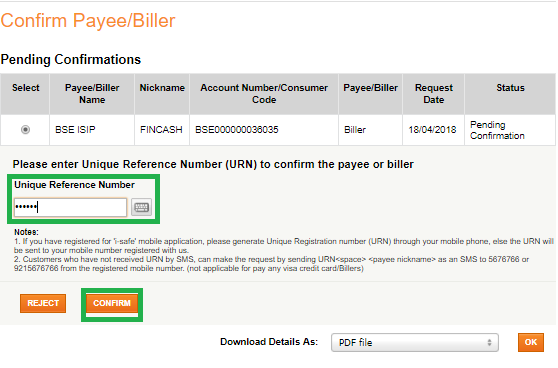 How to Add Biller for SIP Transactions in ICICI Bank?