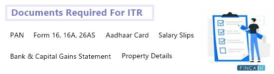 Income Tax Documents Required Before You File ITR