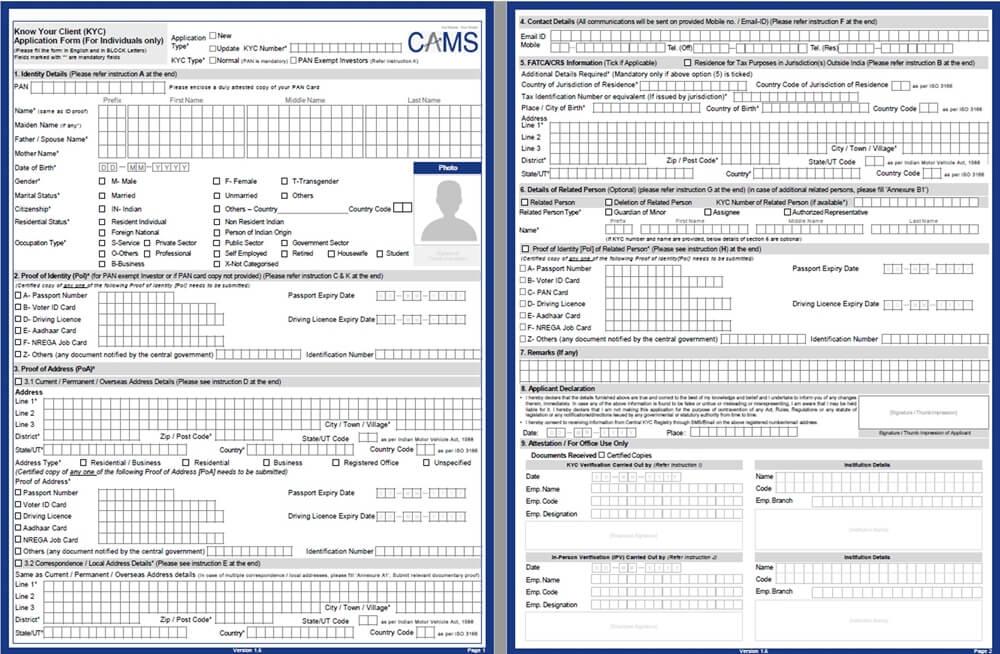 CVL KRA | CVLKRA | KYC Status Check | CVL KRA Verification Form