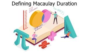 Defining Macaulay Duration