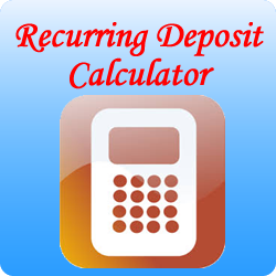 RD Calculator – Recurring Deposit Calculator