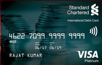 Standard Chartered Bank Debit Card- Benefits & Rewards