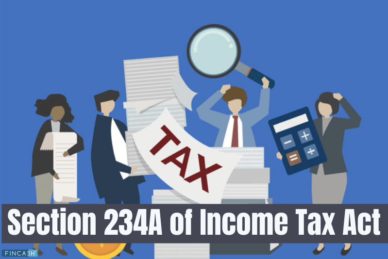 Section 234A - Delay in Filing Tax Returns Under IT Act