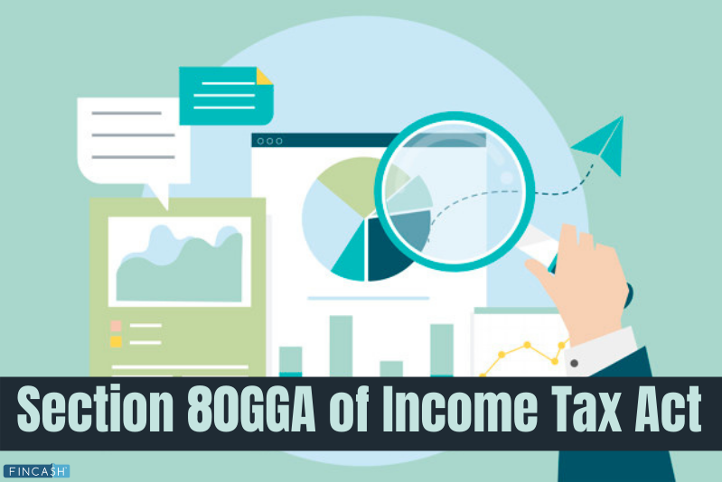 Section 80GGA of Income Tax Act