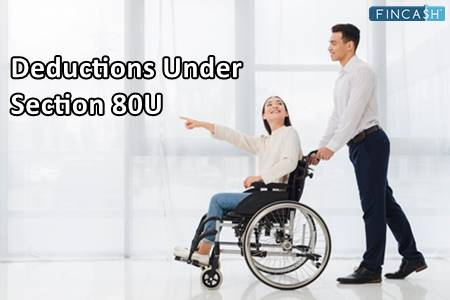 Section 80U Deduction of Income Tax Act