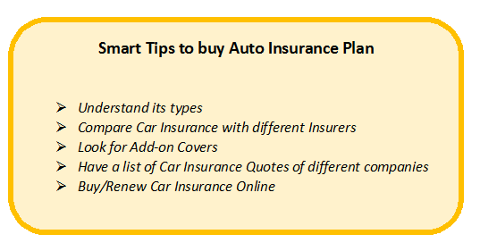 Smart Tips to Buy Auto Insurance