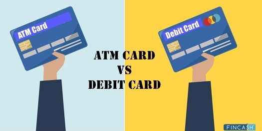 ATM Vs Debit Card- Major Differences to know