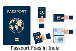 Passport Fees in India 2021
