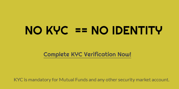 KYC Status for Mutual Funds