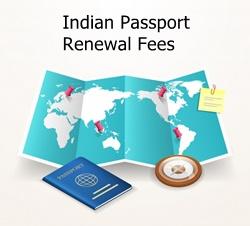 Indian Passport Renewal Fees 2021